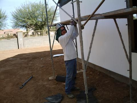 Stucco Texture Match in Scottsdale, AZ